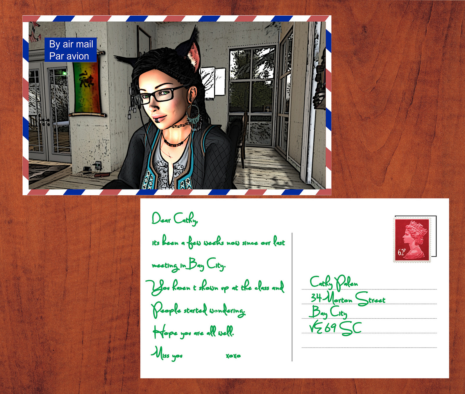Picture Postcards from SecondLife #1