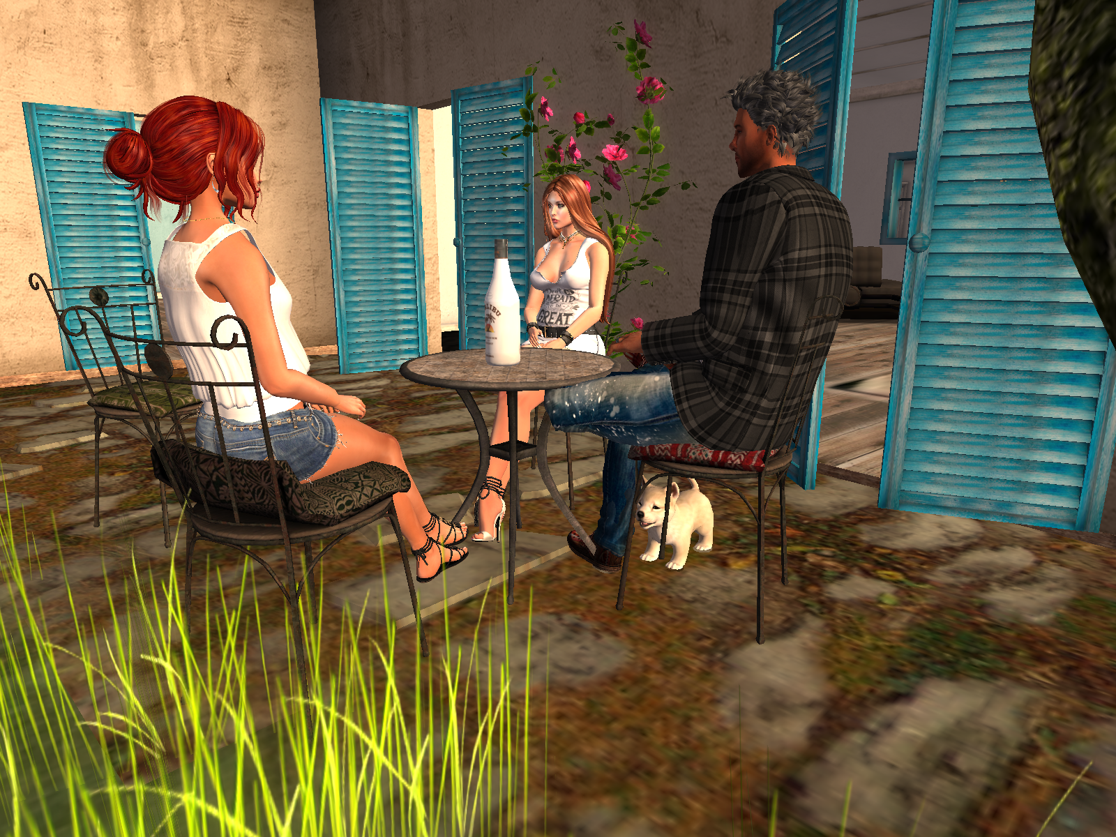 The best of Secondlife is your friends