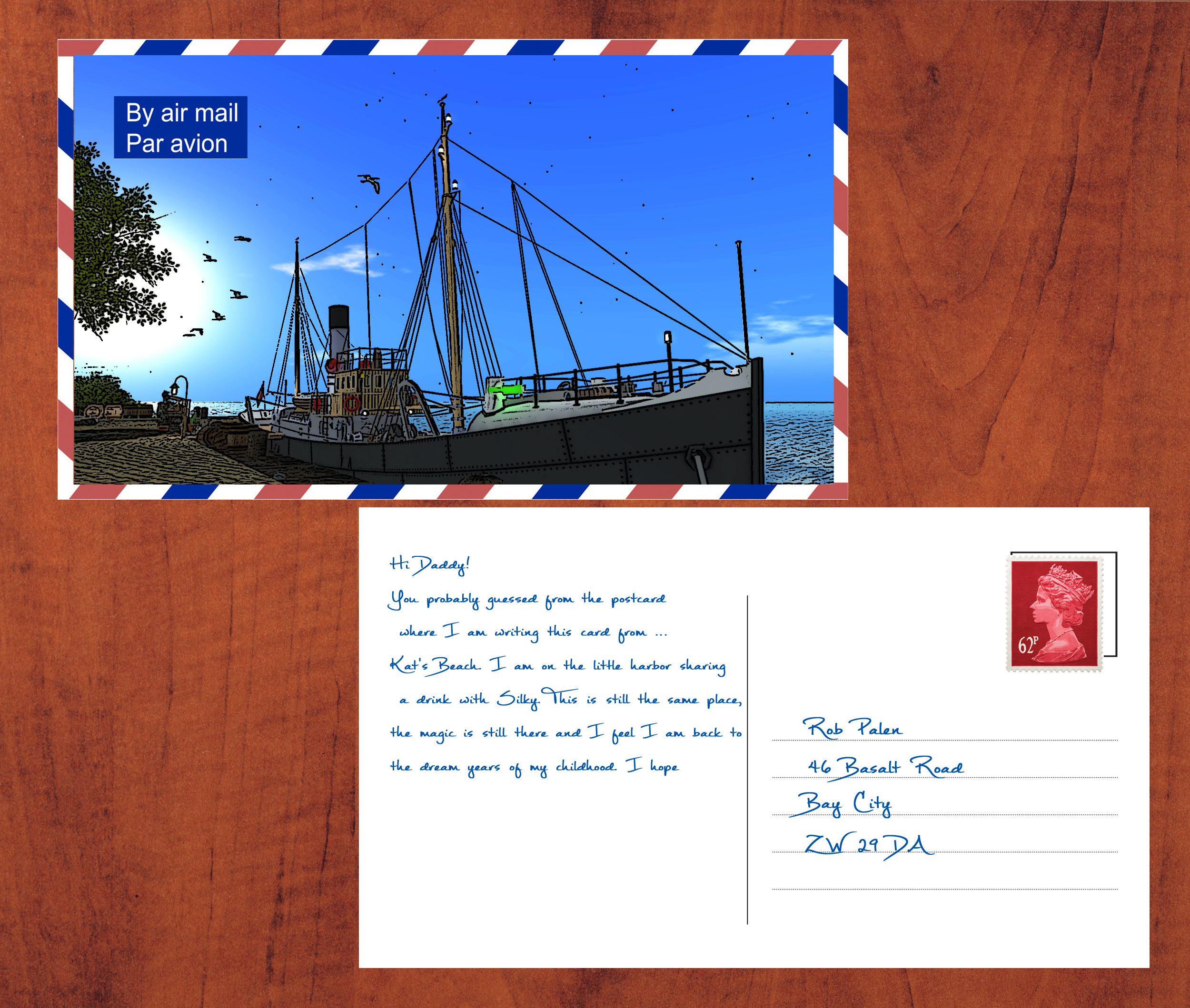 Pictures Postcards from SecondLife #14
