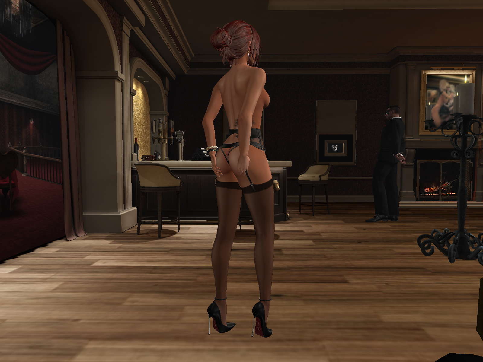 Mysterium Masked Mansion, an erotic swinger place