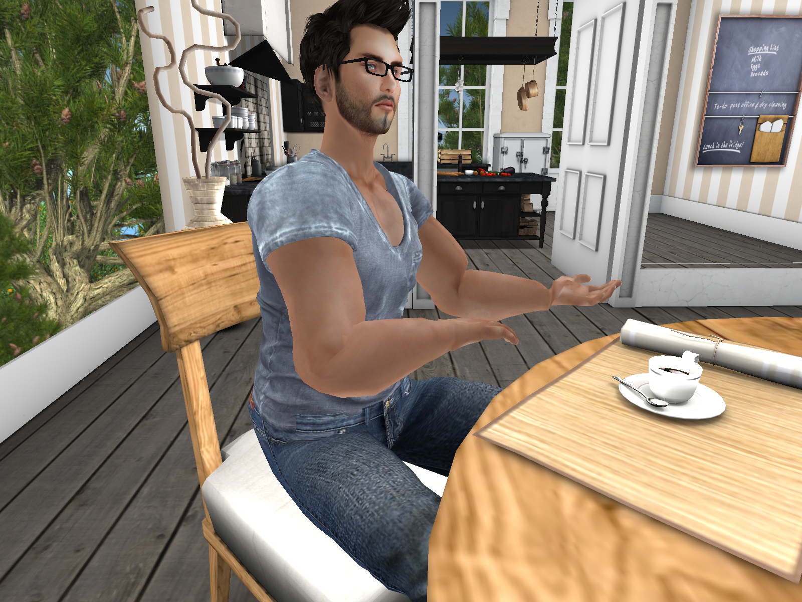 A SecondLife backpacker just started his own blog