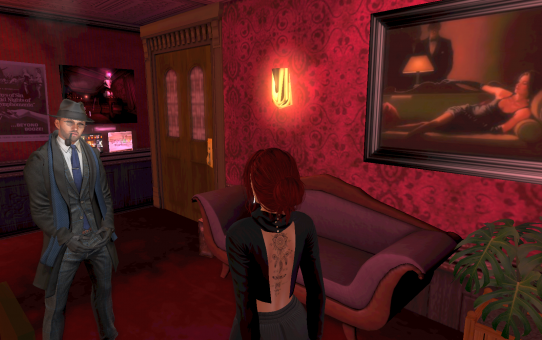 A sad day – Aaron, a very close friend, left SecondLife